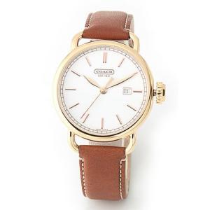 b3fbffbc79aa 【送料無料】コーチ メンズ 腕時計 Classic (クラシック) レザーストラップ・ウオッチ 14600980