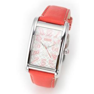 9fe705b4a1e0 【送料無料】コーチ レディス 腕時計 Lexington (レキシントン) シグネチャーダイヤルのレザーストラップ・ウオッチ 14600969