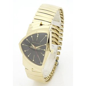 【送料無料】ハミルトン メンズ 腕時計 Ventura(ベンチュラ)エルビス アニバーサリー限定モデル ゴールド H24471131|liberta-tokyo