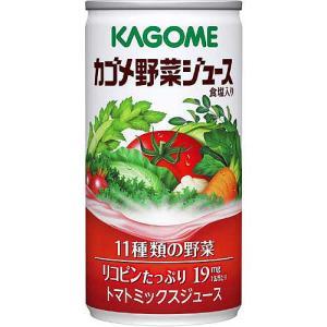 カゴメ 野菜ジュース [190g×30缶入] 11種類の野菜...
