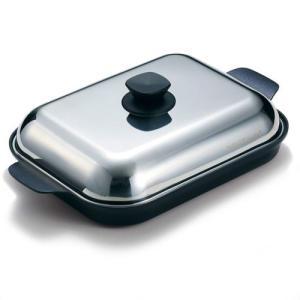 ビタクラフト 鍋 グリルパン [3001] Vita Craft  高密度4層フッ素樹脂コーティング IH対応シリコングリップオレンジ付き! liberta