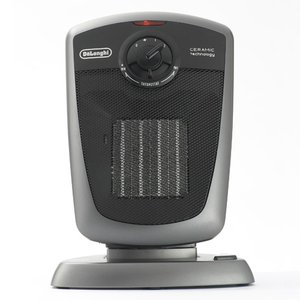 「あったかアイテム」デロンギ DeLonghi セラミックファンヒーター (シルバー) DCH4530J-M 簡易的なサーキュレーターとしても利用可能|liberta