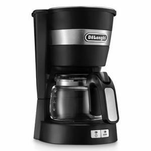 デロンギ ドリップコーヒーメーカー ICM14011J ブラック DeLonghi おしゃれ コンパ...
