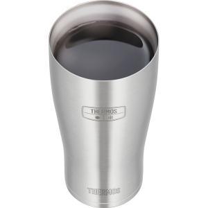 母の日 父の日 サーモス 真空断熱 タンブラー600ml ステンレス(S) [JDE-600] 真空断熱構造で冷たさをキープするタンブラー 食洗機対応 liberta