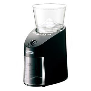 デロンギDeLonghi コーン式コーヒーグラインダー [KG364J] 大切な味や香りを損なわず、挽きムラのない挽き器|liberta