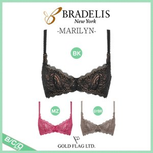 ブラデリスニューヨーク Marilyn マリリンシリーズ ステップ3 3/4カップブラジャー B C Dカップ CA114301 [k]|liberty-h