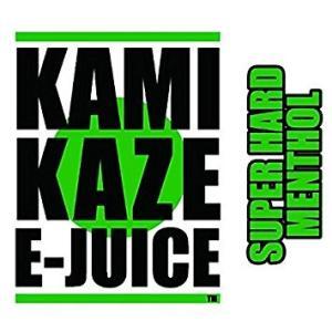 電子タバコ リキッド KAMIKAZE SUPER HARD MENTHOL【スーパーハードメンソール】 15ml カミカゼ 日本製 国産 正規品 VAPE ベイプ