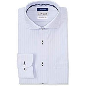 ハルヤマ アイシャツ i-shirt 完全ノーアイロン 360°ストレッチ 速乾 長袖 メンズ サックス M151190013 L84(首回 liberty-online
