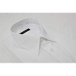 コナカ メンズワイシャツ ビジネスベーシックスタイル 白無地 長袖 豊富な32サイズから選べる 形態安定加工 3枚組セット KZ_YS-WH liberty-online