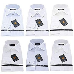 BUSINESSMAN SUPPORT(ビジネスマンサポート) 日本縫製 長袖ワイシャツ 日本生地 ...