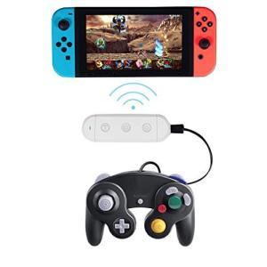 無線gcコントローラー接続タップ ニンテンドースイッチ ブルートゥースゲームキューブ コントローラ ...