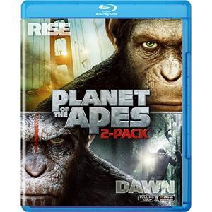 猿の惑星:創世記(ジェネシス)+猿の惑星:新世紀(ライジング) ブルーレイセット(2枚組)(初回生産...