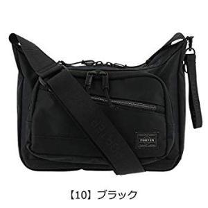 ポーターPORTER フロント FRONT ショルダーバッグ SHOULDER BAG(S) 687-17028 ブラック/10|liberty-online