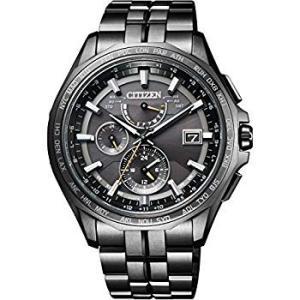 シチズンCITIZEN 腕時計 ATTESA アテッサ Eco-Drive エコ・ドライブ 電波時計 ダブルダイレクトフライト ブラックチタ|liberty-online