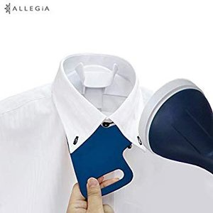 ALLEGiA(アレジア) 衣類スチーマー ハンガースチームアイロン AR-SI1802-BL ブル...