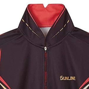 サンライン(SUNLINE) シャツ ステータス プロドライ 半袖 L チャコールグレー STW-5...