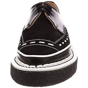 ジョージ コックス レースアップ 3705 V M/G Gibson Black Leather/Suede UK 3(22 cm)|liberty-online