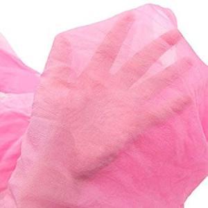 KYOETSU(キョウエツ) 帯 兵児帯 こども 日本製 ぼかし 絞り ボーイズ (ピンク×黄)