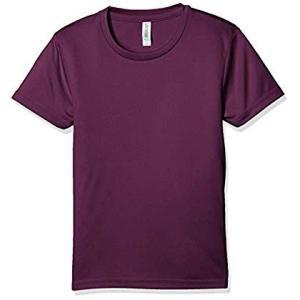 グリマー 半袖 3.5オンス インターロック ドライ Tシャツ 00350-AIT_K パープル 1...