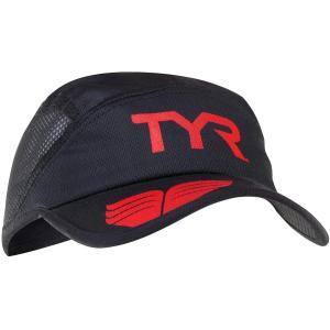 TYR(ティア) COMPETITOR RUNNING CAP BK(001) LRUNCAP ブラ...