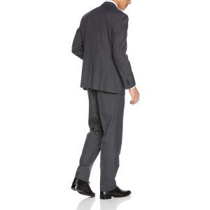 タカキュー m.f.editorial ウィンドーペン チャコール 2ピース レギュラー スーツ 1...