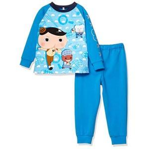 バンダイ パジャマ おしりたんてい 寝ても覚めても光るパジャマ ボーイズ 47889 ターコイズ 日...