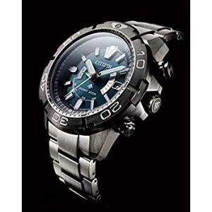 シチズン 腕時計 プロマスター エコ・ドライブ電波時計 MARINEシリーズ ダイバー200M 20...