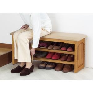 玄関ベンチ/木製収納玄関椅子/イス/チェアー90幅 スリッパラック/下駄箱/シューズボックス|liberty