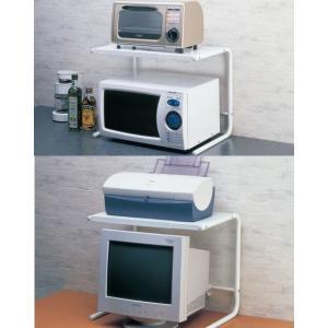 パソコン上ラック レンジ上ラック 伸縮  プリンター台 スライダープリンターラック AVラック 固定式,デスクラック パソコンラック オープンラック|liberty