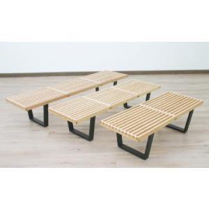 ネルソンベンチ ジョージネルソン プラットフォームベンチ182メープル/ローテーブル/センターテーブル デザイナーズ家具|liberty