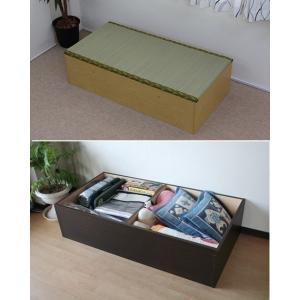 ユニット畳120 高床式 畳ユニットボックス/収納ベンチ、ベッドにも|liberty
