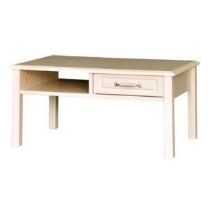 センターテーブル/木製テーブル 北欧家具風ローテーブル/リビングテーブル ホワイトナチュラル|liberty