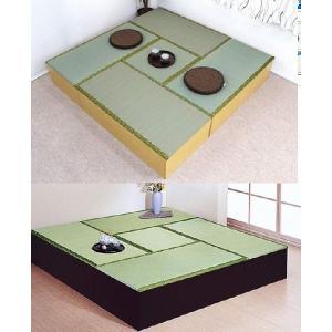 ユニット畳セット 高床式 たたみユニットボックス/収納ベンチ、ベッドにも|liberty