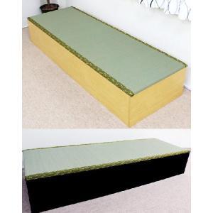ユニット畳180 高床式 たたみユニットボックス/収納ベンチ、ベッドにも|liberty