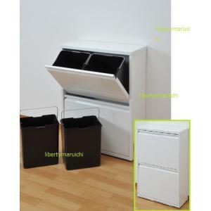 分別ごみ箱 ペールストッカー/フラップ式ごみ箱4分別 キッチンゴミ箱|liberty
