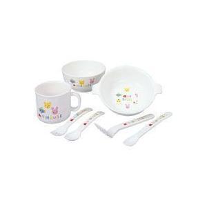ベビー用品 ミキハウス テーブルウェアセット/ベビー食器セット/お食い初め/おくいそめ|liberty