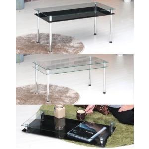 ガラステーブル  3WAYローテーブル リビングテーブル|liberty