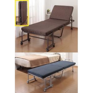 折りたたみベット コンパクト立ち座り楽ちん折り畳みリクライニングベッドシングル/14段階リクライニング 付き添い|liberty
