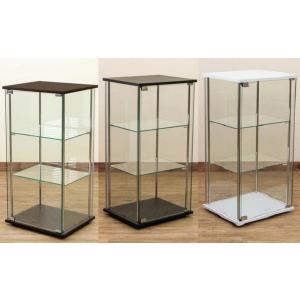 コレクションケース キュリオケース キュリオガラス アレンジキャビネット 飾り棚/コレクションボックス/ガラスショーケース|liberty