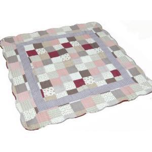 洗えるラグ パッチワークホットカーペットカバー  じゅうたん 絨毯 長方形 こたつ敷 liberty