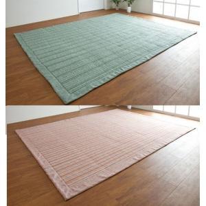 たたみ風しじらラグ 長方形190/240 こたつ敷 コタツ中敷 洗えるカーペット|liberty