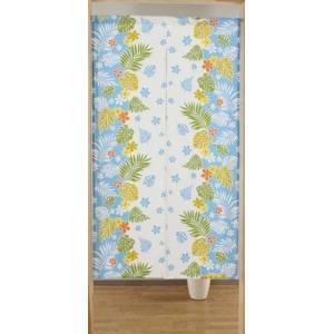 ロングのれん150丈  ハワイアン暖簾 目隠し 間仕切り|liberty