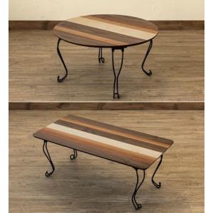 折りりたたみテーブル猫脚 角型/円形ちゃぶ台 丸テーブル 折れ脚木製テーブル|liberty