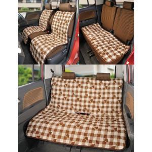 カーシートカバー フロント2枚+リア用3点セット  車用椅子カバー|liberty
