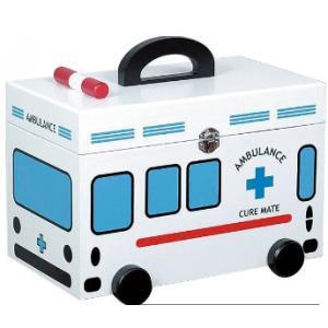 救急箱 救急車 雑貨/小物入れにも 薬箱 |liberty