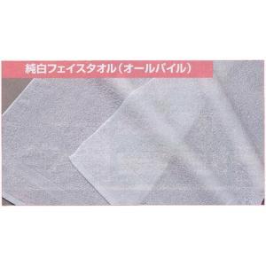 名入れ プレゼント 純白ソフトフェイスタオル オールパイル(220型) 120枚 |liberty