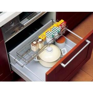 シンク下キッチン収納 小物類をまとめて収納 引き出し小物バスケット|liberty