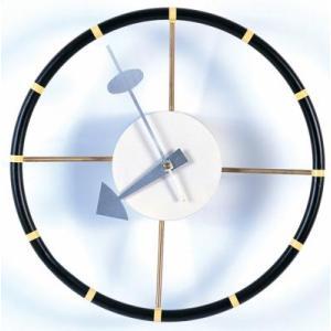 ネルソンクロック ジョージネルソン ステアリングホイールクロック壁掛け時計/インテリア時計/ウォールクロック/デザイナーズ家具|liberty