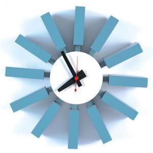 ネルソンクロック ジョージネルソン ブロッククロック壁掛け時計/インテリア時計/ウォールクロック デザイナーズ家具|liberty