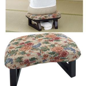 正座椅子2脚組 らくらくコンパクト 座敷いす/ローチェアー   liberty